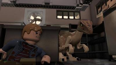 ميزات لعبة Lego Jurassic World للكمبيوتر