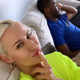 Sport news :::  Mikel Obi Partner , Olga Allegra Shares Photo Of Mikel Sleeping In The Middle Of A Conversation