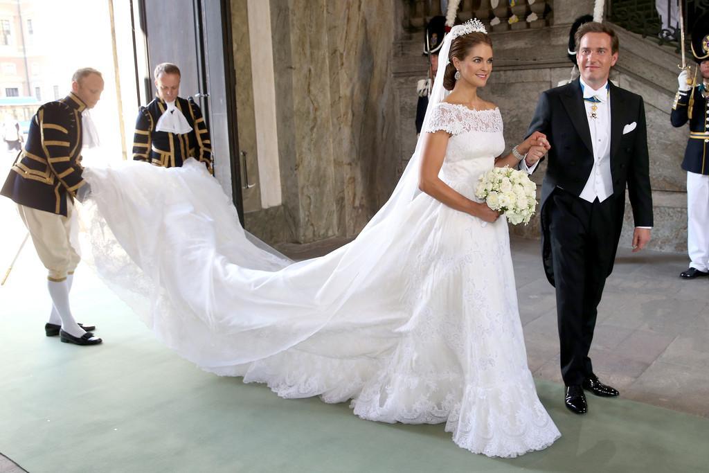 Princess Madeleine Wedding Shoes