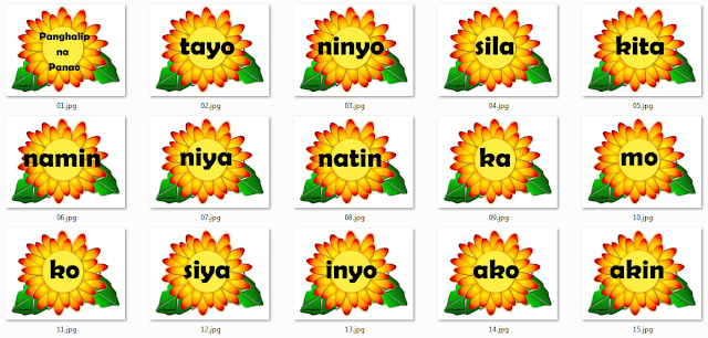 Panghalip Na Panao Filipino Instructional Materials