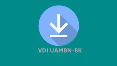 Download VDI UAMBNBK Tahun Pelajaran 2019-2020