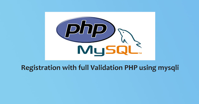 Complete user registration system using PHP and MySQL database
