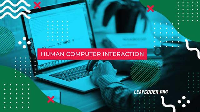 Aspek Manusia dalam Human Computer Interaction