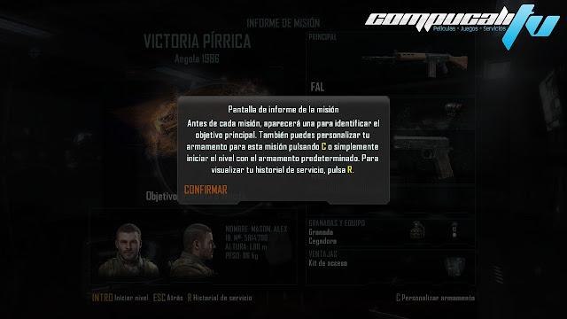 Imágenes propias Call Of Duty Black Ops 2 PC Español