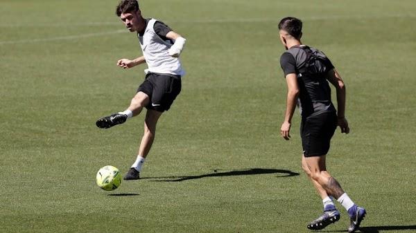 Málaga, Ale Benitez ausente por lesión