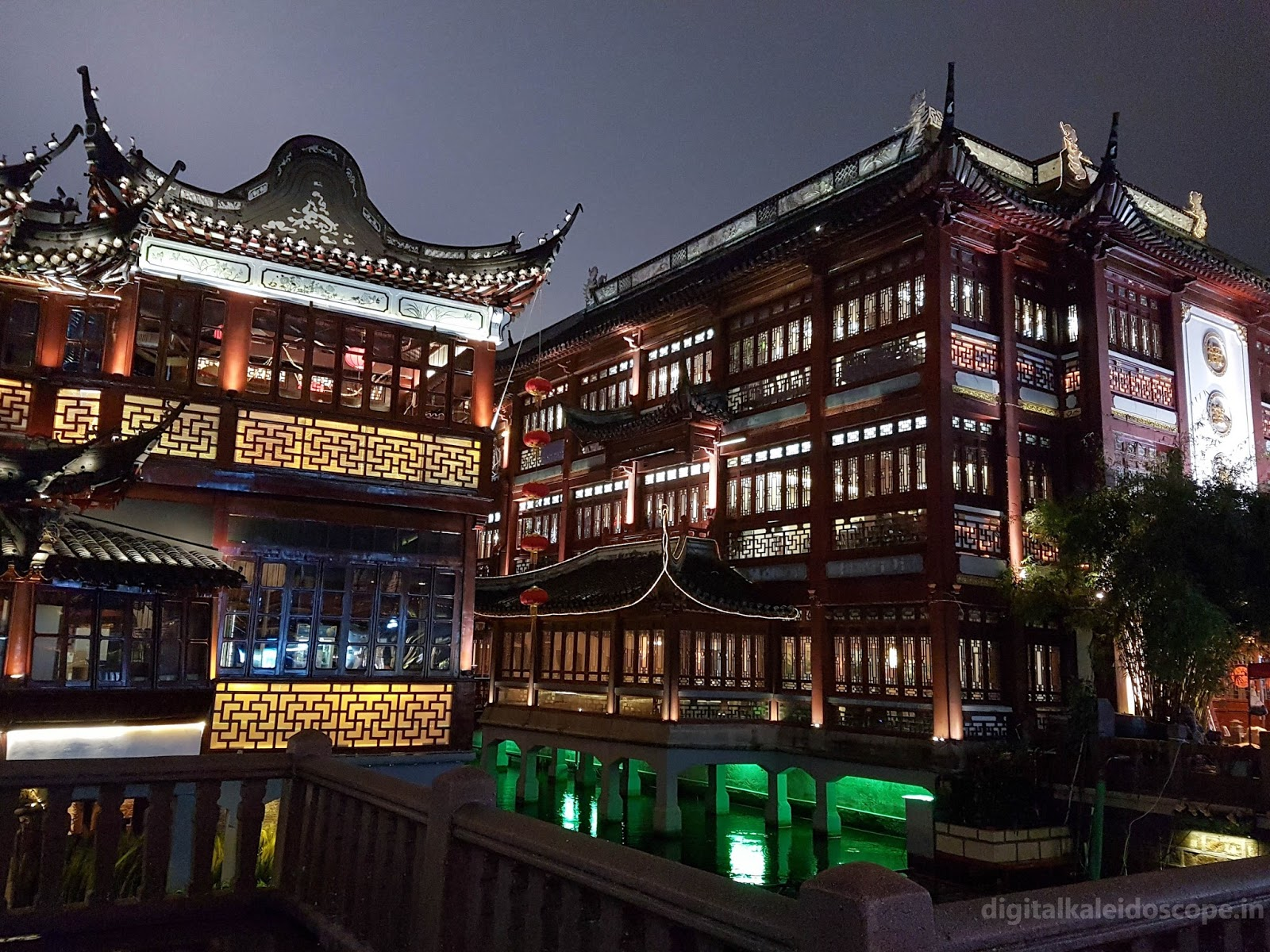 Beautiful Architecture of Yuyuan Bazaar