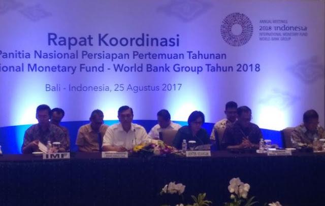 Wow,, Indonesia Siapkan Dana Rp 868 Miliar untuk Sukseskan Pertemuan IMF-World Bank