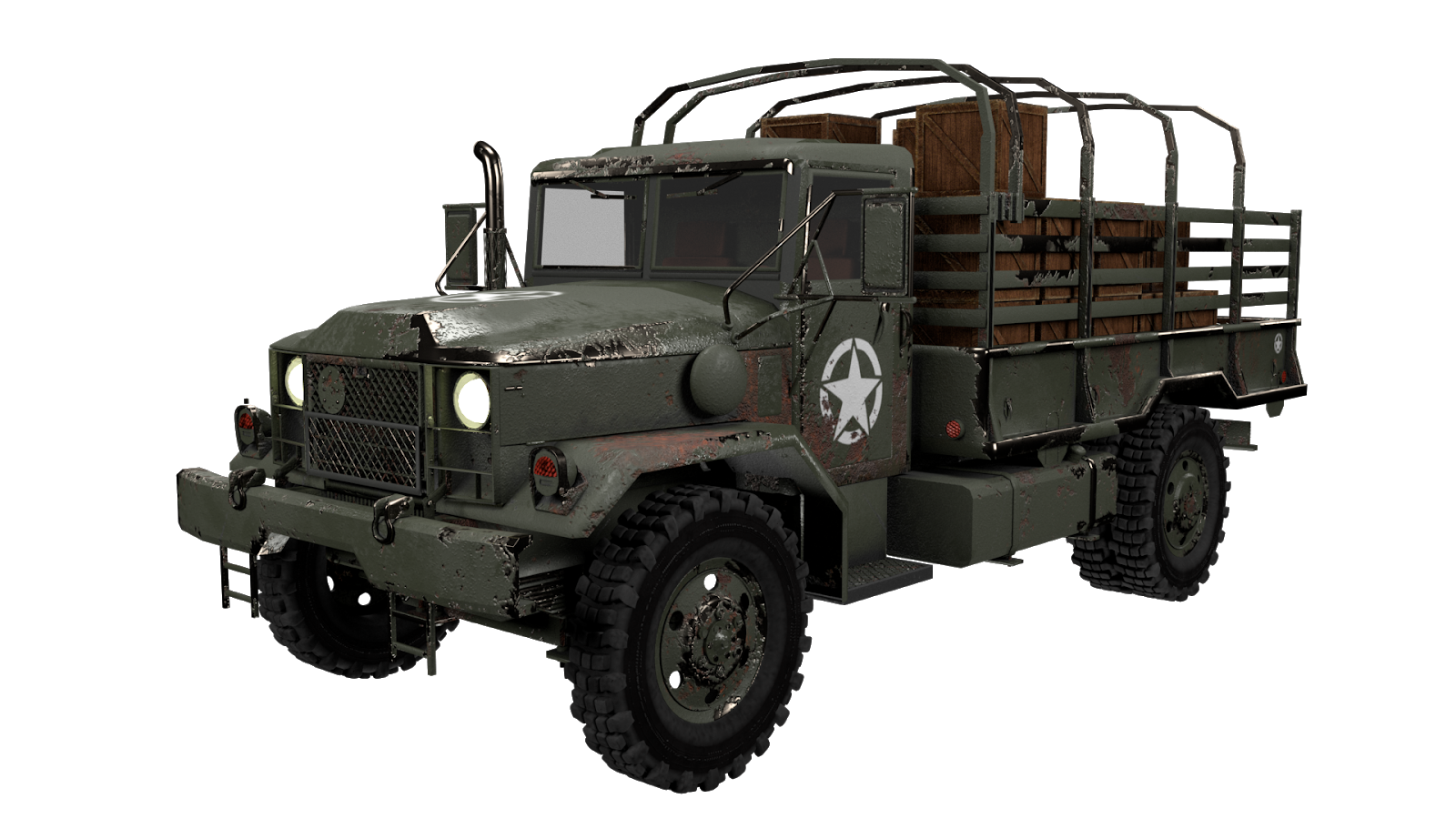3d Army Truck Concept Design Ucm Creations