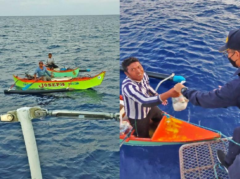 Kahit sa gitna ng dagat, may ayuda! PH Coast Guard, nagbigay ng munting tulong sa mga mangingisda.
