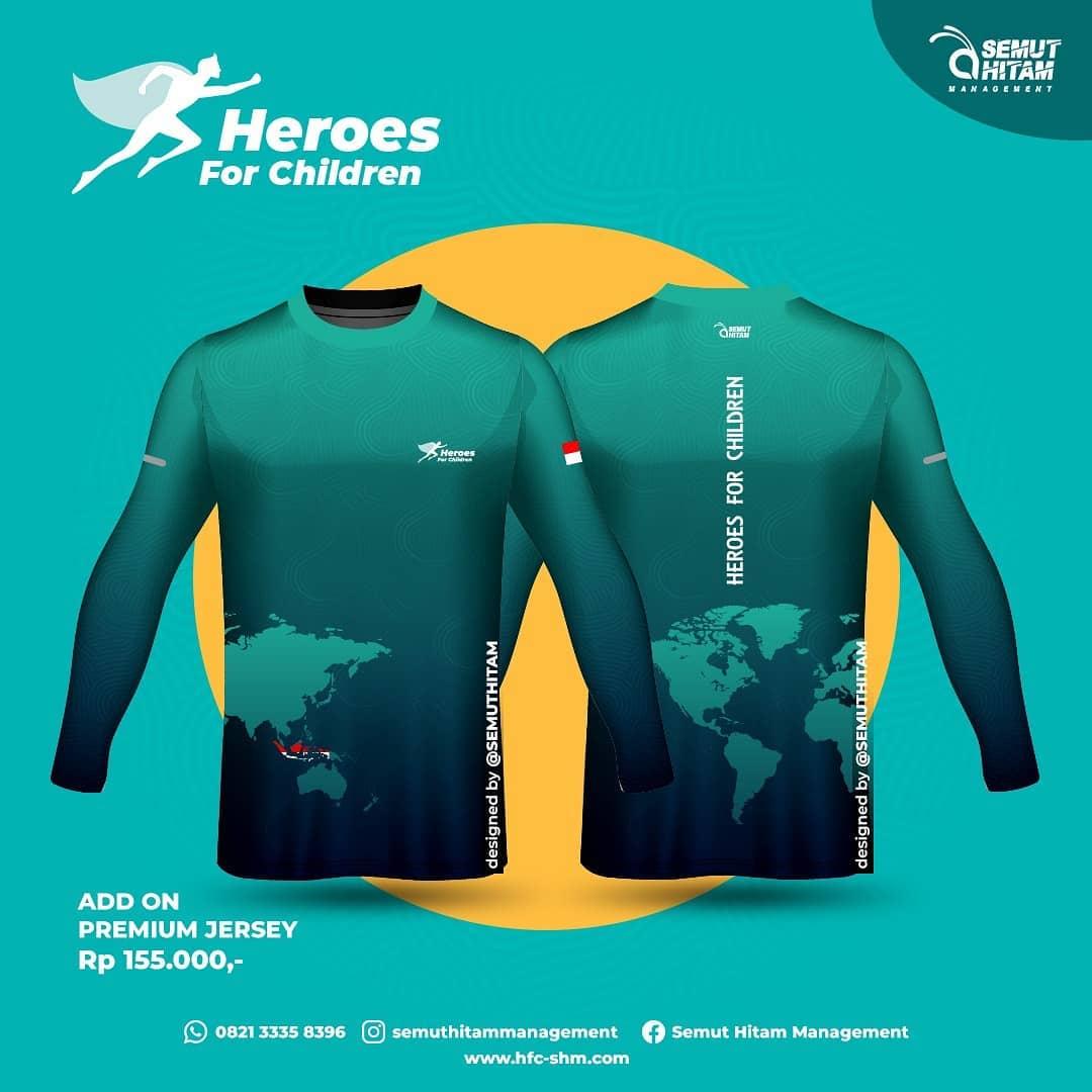 Jersey Run Long 👕 Heroes for Children • 2021