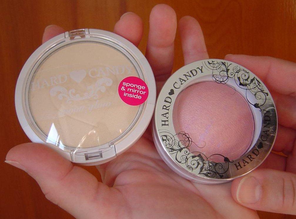Hard Candy Cosmetics Moon Glow Illuminated Translucent Pressed Powder and Blush Crush