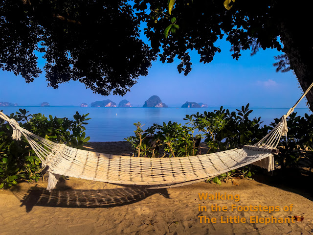 Relax at Tub Kaek beach in Krabi, Thailand