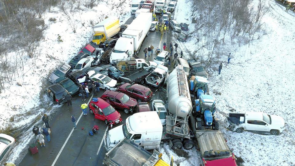 Skook News Hazleton Man Dies In Multi Vehicle Crash On