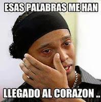 """Ronaldinho """"Esas palabras me han llegado al corazón"""""""