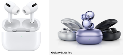 Apple AirPods Pro ve Samsung Galaxy Buds Pro