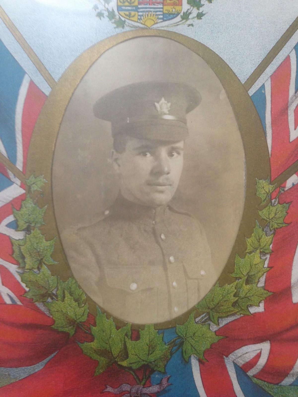 Remembering WW1 Soldier W. J. P. Bullock
