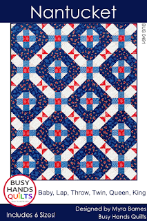 Nantucket Quilt Pattern by Myra Barnes of Busy Hands Quilts