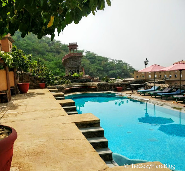 Neemrana fort Palace, Explore Rajasthan, Heritage hotel, Thecozyflareblog, Neemrana View, weekend gateway near Delhi NCR