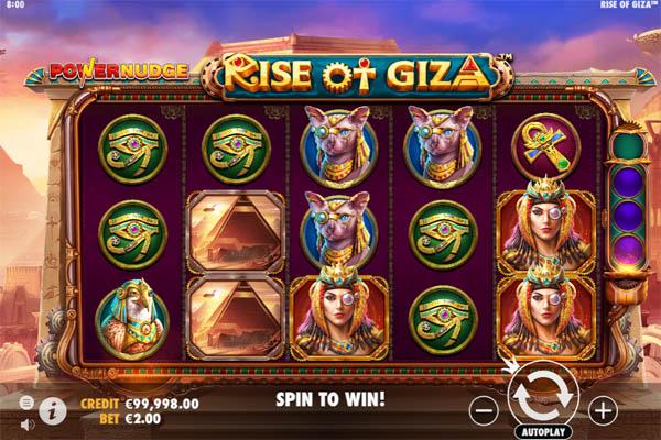 Main Gratis Slot Indonesia - Rise Of Giza Powernudge Pragmatic Play