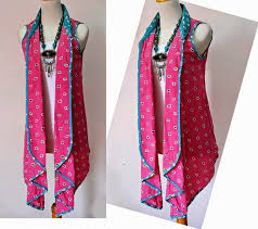 Model Baju Batik Wanita Bolero Masa Kini
