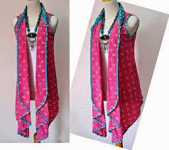 Dress Baju Batik Kombinasi Bolero Modern