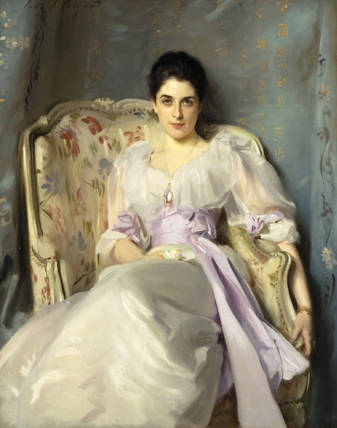 لوحة ليدي أغنيو لجون سارجنت 1893م