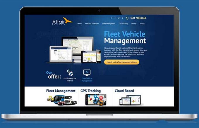Laman web perniagaan