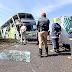 Ônibus sofre grave acidente em Tamarana