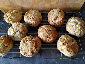 Apple and Cinnamon Scones