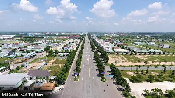 Cần bán đất thị trấn Dầu tiếng mặt tiền đường Văn Công Khai cách DT750 chỉ 60m