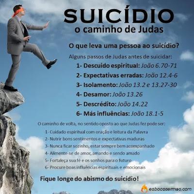 pregação sobre suicídio