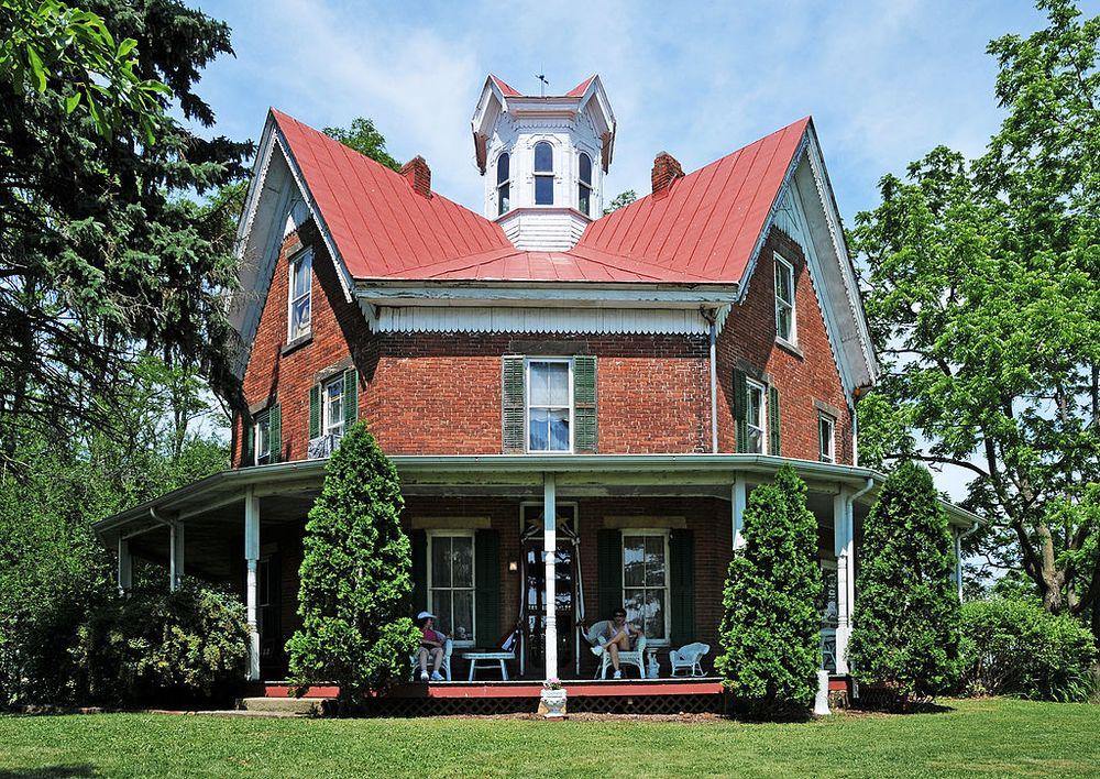Ezekiel B. Zimmerman's octagon house