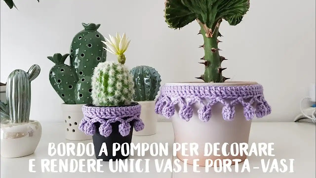 Tutorial Borde o Puntilla Pompom para Decorar
