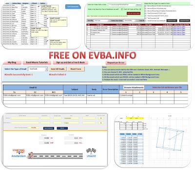 [Free VBA tool] TOP 5 VBA TOOLS FREE DOWNLOAD ON EVBA.INFO