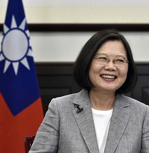 Tsai Ing-wen foi reeleita massivamente em 2020 pela sua oposição ao comunismo