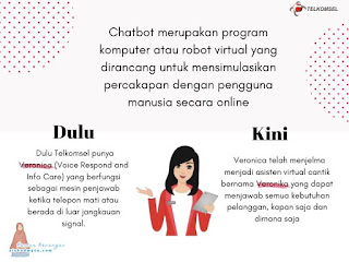 Veronika chatbot telkomsel