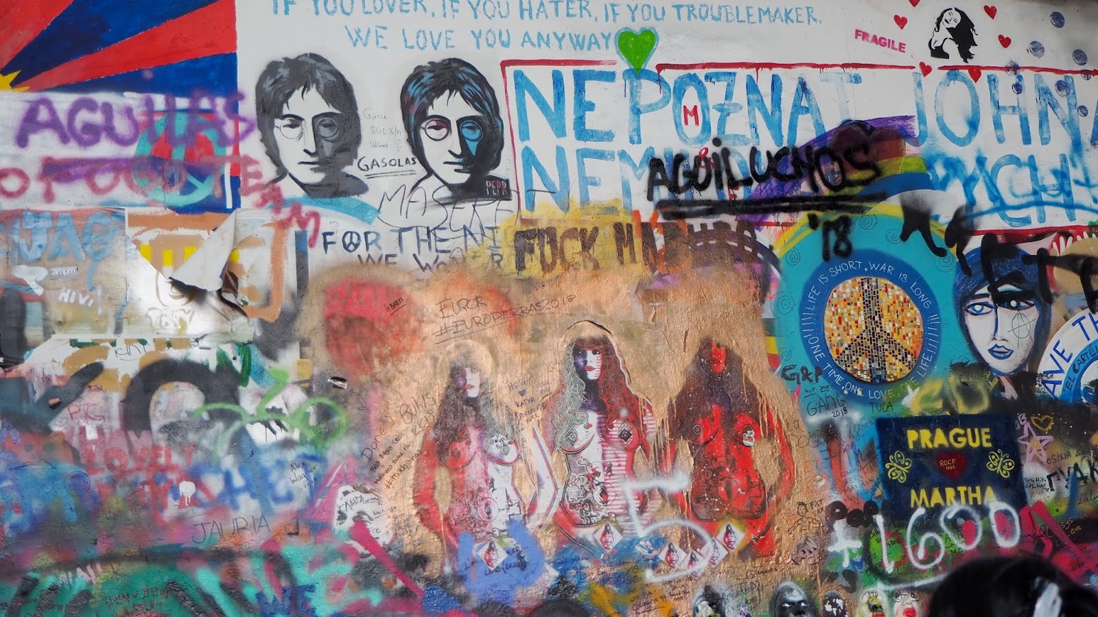 Prague John Lennon Wall