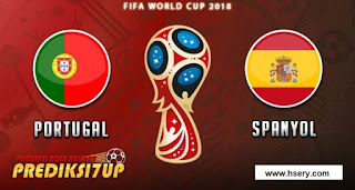Football Jerseyالبرتغال Vs اسبانيا  . كأس العالم 2018