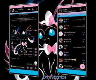 Black Pokemon Theme For YOWhatsApp & Fouad WhatsApp By Driih Santos
