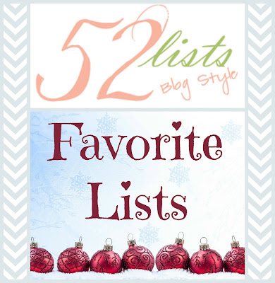 52 Lists #51 - Favorite Lists on Homeschool Coffee Break @ kympossibleblog.blogspot.com