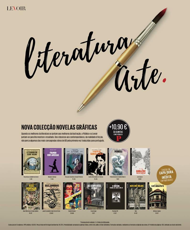 Bedeteca Portugal: 5ª série da colecção Novela Gráfica a