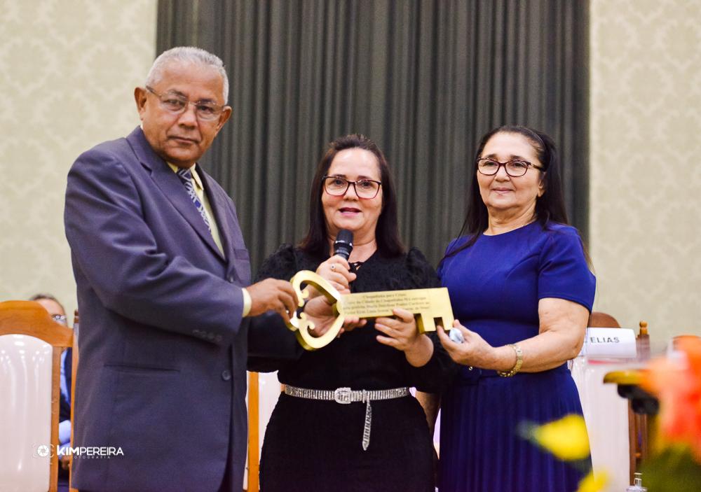 Prefeita Ducilene Belezinha, participa da abertura da 14ª edição do Chapadinha para Cristo 2021