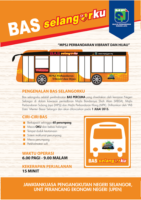 Bas Percuma Selangorku Free Bus Services Bus Routes Operation Time