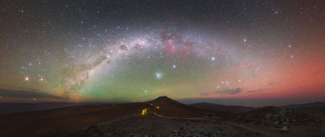 Keren! ini Foto Fenomena Atmosfer Bumi yang Diambil Dari ISS