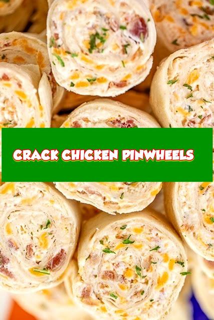 #CRACK #CHICKEN #PINWHEELS