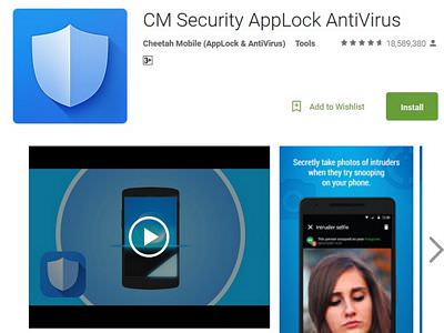 cm security app review