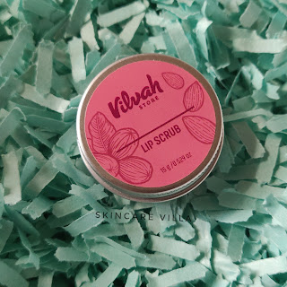 Vilvah Lip Scrub Review