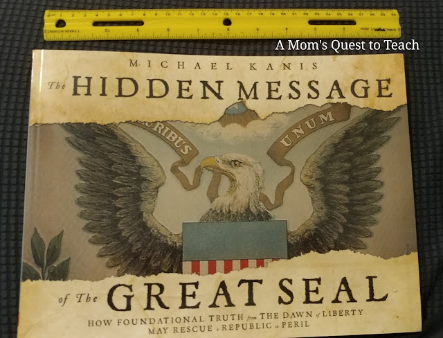 book cover of The Hidden Message of the Great Seal with ruler