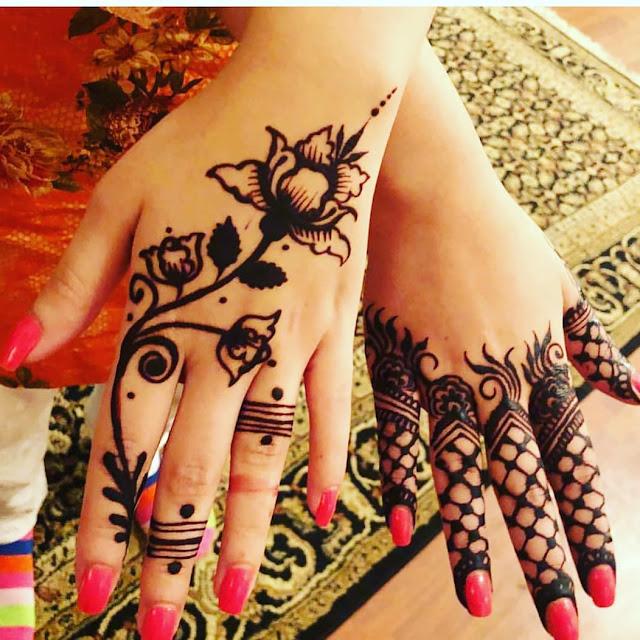 arabic arm mehndi designs