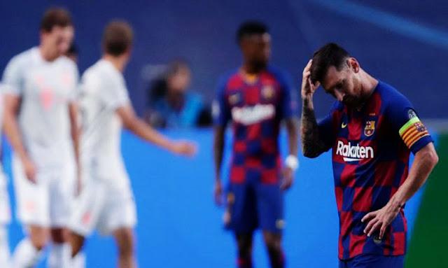 بايرين ميونخ يُهين برشلونة برشلونة بثمانية تاريخية ويتأهل لنصف نهائي أبطال أوروبا